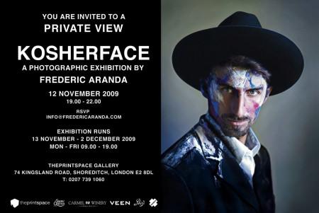 Kosherface at the Printspace Shoreditch