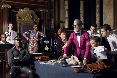 Greedy Hedonistic, Group Portrait, Harper's Bazaar China