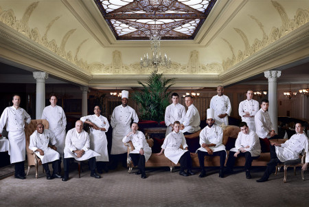 Chefs, Group Portrait, Harrods