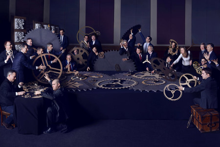 Master Watchmakers I, Group Portrait, Vanity Fair UK