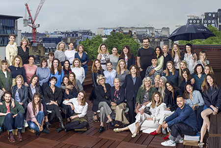 British Vogue Family, Group Portrait