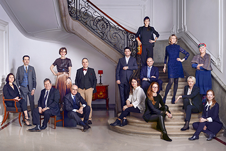 Archivists & Librarians, Group Portrait, Vanity Fair UK