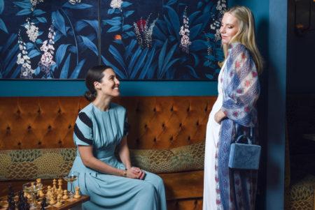 Emilia Wickstead and Alice Naylor-Leyland, Vogue Japan