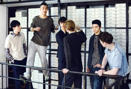 Designer and Models, Group Portrait, GQ Japan