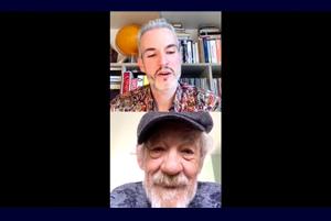 Instagram Live with Ian McKellen: In Full